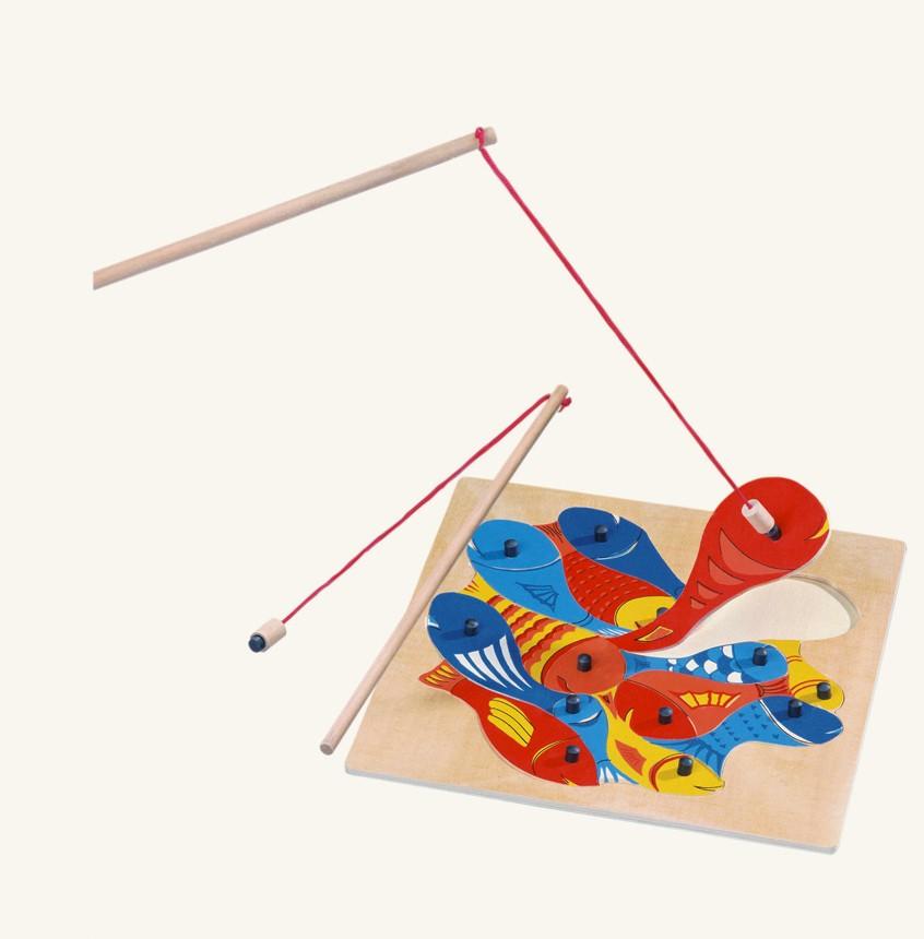 Rybičky s udičkou, magnetická hra