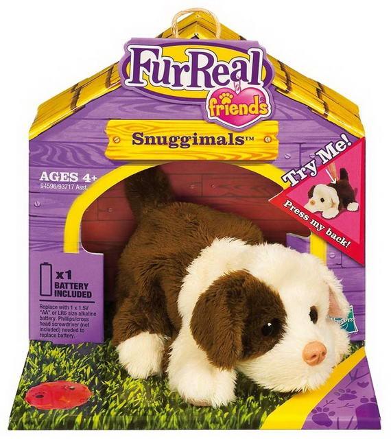 Fur Real Interaktivní zvířátka do dlaně