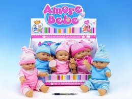 Miminko panenka Amore Bebe 30 cm