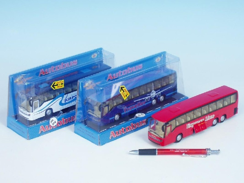 Autobus kov 18 cm PB se světlem a zvukem