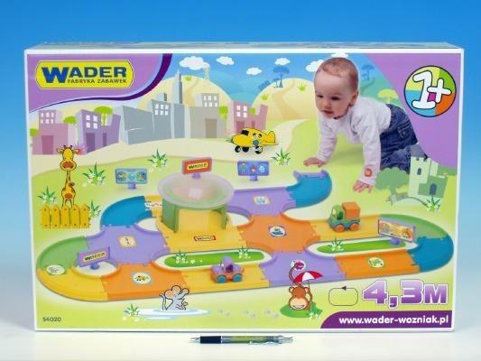 Dětská garáž + silnice 4,3 m Wader